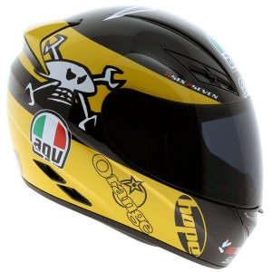 AGV K-3 Guy Martin Yellow/White/Black