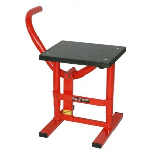 Tag-Z Twin Leg Step Up MX Stand Red