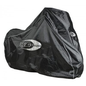 R&G Racing Adventure Outdoor Cover Black Waterproof motorcycle cover