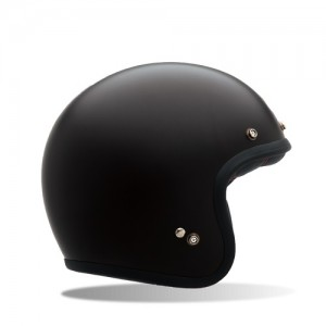 Bell Custom 500 Open Face Matt Black Helmet