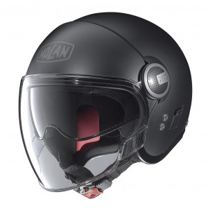 Nolan N21 Visor Open Face Helmet Matt Black