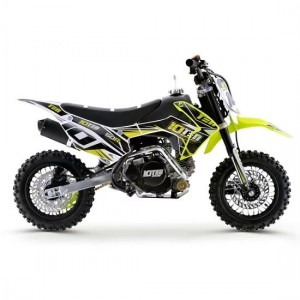 10TEN MX 50R Fully Automatic Junior Dirt Bike Black/Yellow/White