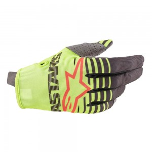 Alpinestars Racer 2020 Adult Radar Glove Anthracite Yellow