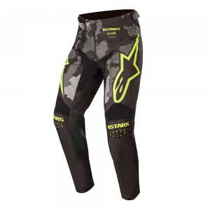 Alpinestars Racer 2020 Youth Racer Tactical Pant Camo Flourescent Yellow