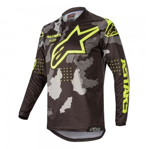 Alpinestars Racer 2020 Youth Racer Tactical Jersey Camouflage Yellow