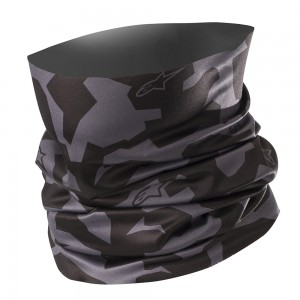 Alpinestars Camouflage Neck Tube Grey Black