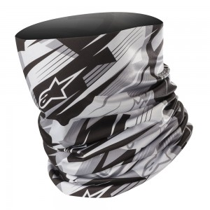 Alpinestars Blurred Neck Tube Black Anthracite