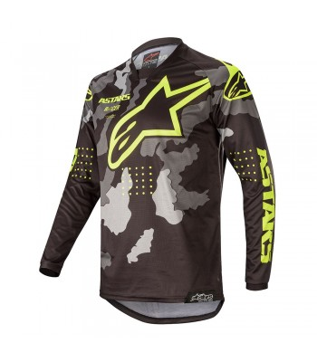 Alpinestars Racer 2020 Tactical Jersey Camouflage Yellow