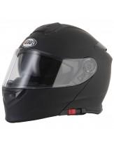 Vcan V271 Flip Front Helmet Matt Black