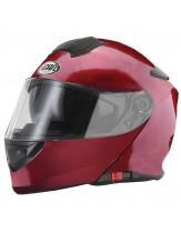 Vcan V271 Flip Front Helmet Gloss Burgundy
