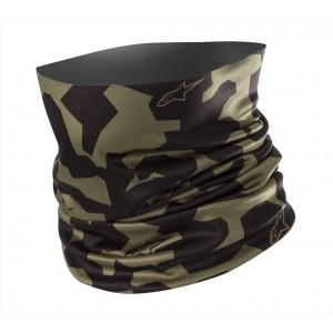 Alpinestars Camouflage Neck Tube Black Green