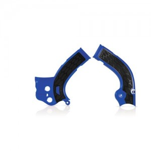 Acerbis Frame Covers X-Grip YZF250 YZF450 2014 2015 BLUE