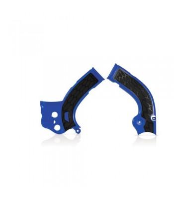 Acerbis Frame Covers X-Grip YZF250 YZF450 2014 2015 BLUE