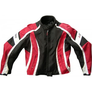 A-Pro Fireblade Textile Motorcycle Jacket - Red *LAST ONE*