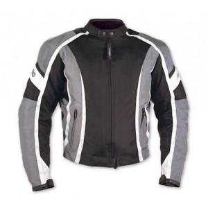 A-Pro Fireblade Textile Motorcycle Jacket - Silver