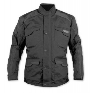 A-Pro Ice Textile Motorcycle Jacket - Black