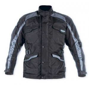 A-Pro Ice Textile Motorcycle Jacket - Silver