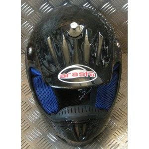 Arashi Twister Black Adult MX Helmet