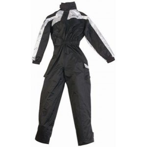 Bering Iwaki Motorcycle Waterproof Oversuit - Silver