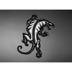 3D Panther Decal Small