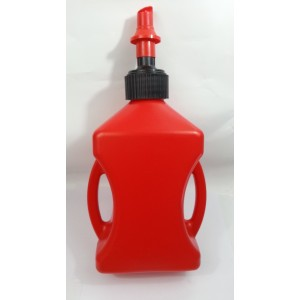 10L Fuel Jug With Fast Flow Spout Red