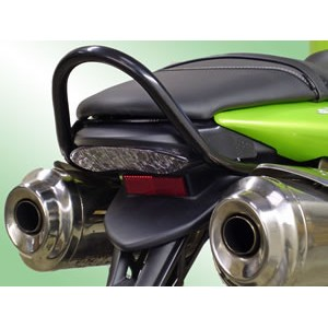 Renntec Grab Rail For Triumph Street Triple (Upto 2009) - Black   (Does not fit with Arrow Exhaust System)